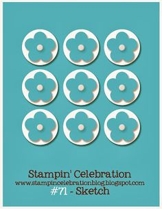 Stampin' Celebration Inspiration Challenge: SCIC #71 SKETCH Challenge