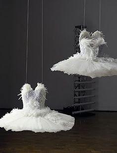 Rodarte costumes from 'Black Swan' on display at MOCA