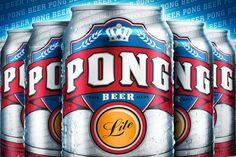 """I'm sure it'll be a little too """"lite"""" for my taste, but you gotta love the genius idea of capitalizing on the beer pong craze."""