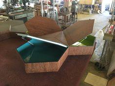 New office table system. Interactive furniture. International Furniture Trades Milan 2015. Rho fiera / Ufficio.