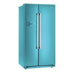 Gorenje NRS 85728 BL Blau Side by Side, A+, NoFrost, 345/192 Liter