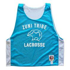 Zuni Tribe Lacrosse Pinnie