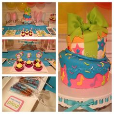 My daughters Fresh Beat Band party! Party inspiration and cake ideas!