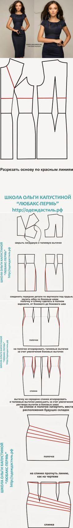 440 mejores imágenes de Patrones de costura | Dress patterns, Diy ...