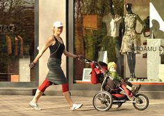 Stroller walking for weight loss.