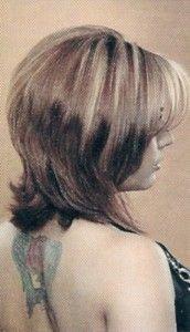 Medium Length Face Framed Shag Haircut Picture
