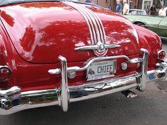 1952 Pontiac Chieftain convertible, rear