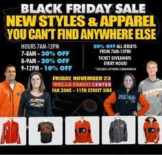 2012 Black Friday Sales - Philadelphia Flyers