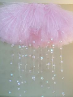 Crystal baby mobile AVAILABLE in OTHER by JennabooBoutique on Etsy