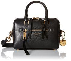 Amazon.com: Marc Jacobs Small Recruit Small Bauletto Handbag, Azure: Clothing