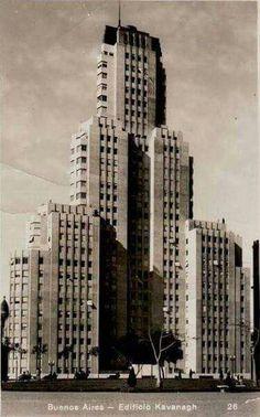 Edificio Kavanagh, Buenos Aires. True 1930s art deco.