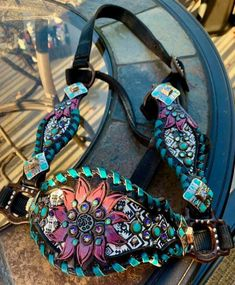 Bling Horse Tack, Western Tack, Headstall, New Pins, Leather Working, Westerns, Gucci, Horses, Shoulder Bag