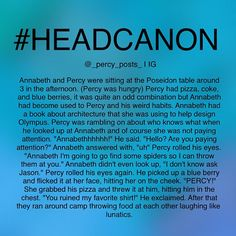 Instagram media by _percy_posts_ - - {My edit give credit} - -  okay so this is another random #Headcanon I thought of! If you repost please give credit  -  All of myheadcanons are here ➡️ #Percypostsheadcanons please don't uses this hashtag -  I cannot tag anyone anymore because we had way too many I'm so sorry I hope you can understand. but you can check our account to see if we posted. I will post something a couple hours later saying I posted some headcanons just in case you missed…