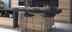 Linea Roda by IXINA - Bucătării și Electrocasnice Bar, Console, Kitchen Design, Design Inspiration, Interior, Modern, Table, Furniture, Home Decor