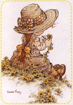 Immagini Sara Kay e Holly Hobbie Sarah Key, Holly Hobbie, Mary May, Creative Pictures, Digi Stamps, Cute Illustration, Vintage Cards, Retro, Cute Art