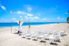 If you choose to hold your ceremony at Zoetry Agua Punta Cana's beach, it can accommodate up to 150 people! #ZoetryAgua