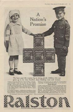 * Ralston ad * for sturdy children.