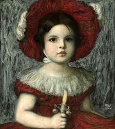 Franz Von Stuck Mary the-artist's-daughter