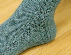 Ravelry: Gully Socks pattern by Miriam L. Felton