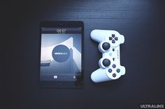 iPad Mini with PS3 controller