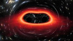 The Largest Black Holes in the Universe ~ http://www.black-holes.org/the-science-numerical-relativity/numerical-relativity/gravitational-lensing http://arxiv.org/abs/1410.7775