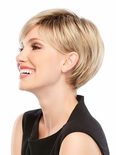 2015 American Synthetic Hairstyle Wigs Short Hair cut Straight ...