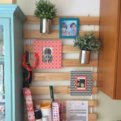 Make this organizer with a Sultan Lade from Ikea. Easy and colourful idea to improve any space.