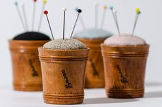 item of image Sajou Wooden Pincushion