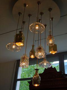 2012年 ミラノ・サローネ ウイスキーのバランタインらしい照明