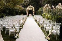Gorgeous Alfresco Garden Wedding In Bel Air California