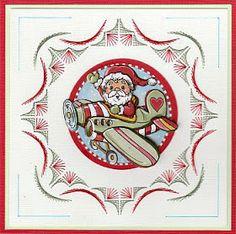 Josee's Kaartenblog: Decembermaand. Kerstmaand