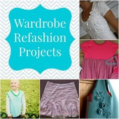 28 Wardrobe Refashion Projects + 16 Ideas for the Whole Family from www.allfreesewing.com