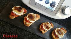 Un bote de Compota de Tomate Casero en Thermomix  ®  y unas rodajas de Queso de Cabra se convierten en un Aperitivo de Lujo, con el que ...