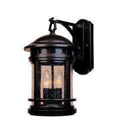 Designers Fountain Sedona 3 Light Outdoor Wall Lantern in Oil Rubbed Bronze 2381-ORB #DesignersFountain