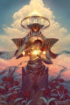 Zuriel, Angel of Libra, Peter Mohrbacher on ArtStation at https://www.artstation.com/artwork/Xw8OD