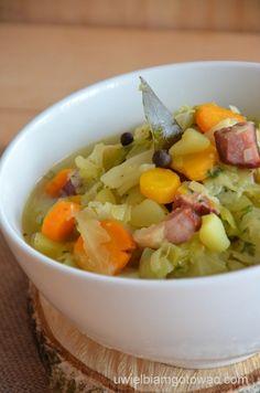 Parzybroda Cabbage Soup, Cantaloupe, Chili, Fruit, Polish, Food, Polish Food Recipes, Vitreous Enamel, Chile