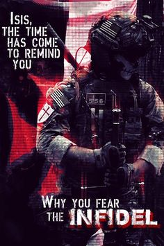 #SoldierOfFortuneMagazine - Isis the time has come to remind you why you fear the infidel...j                                                                                                                                                     More
