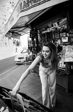 A town like Sanremo brings out the temperament of Mandy Grace Capristo.