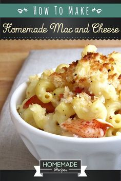 Learn how to prepare Homemade Mac and Cheese Recipe here at Homemade Recipes. It's pretty easy and you will get to serve a delicious food. Cook to impress!