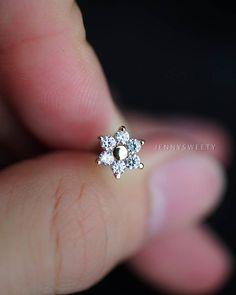 cartilage earring tragus earring cartilage piercing door JennySweety