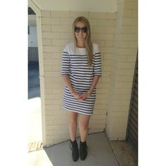 Asos Dress and Acne Pistol Boots on ivylanestyle.com (ps - follow me on instagram @ivylanestyle_) x