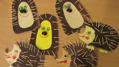 Hedgehog with toothpicks - Igel Basteln Autumn Crafts, Autumn Art, Autumn Theme, Fall Art Projects, Projects For Kids, Crafts For Kids, Autumn Activities, Preschool Activities, Painting For Kids