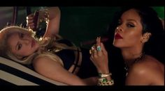 """Shakira smoked cigars with Rihanna in the music video for """"Can't Remember to Forget You."""""""