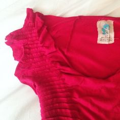 Anthropologie top with pleat detail Worn only a few times, in excellent condition! Anthropologie Tops Tees - Short Sleeve