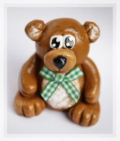 Salt Dough Bear
