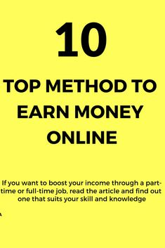 Earn money online is a relevant topic to discuss at these times and here we have 10 solid & legal ways. If you want to boost your income Earn Money Fast, Earn Money From Home, Earn Money Online, Way To Make Money, Online Jobs From Home, Work From Home Jobs, Online Earning, Blogging For Beginners, Extra Money