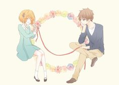 Love Sakura and Shaoran Cardcaptor Sakura <3 <3 :3