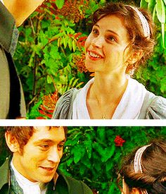 northanger abbey | Tumblr.... this scene is so cutely awkward.