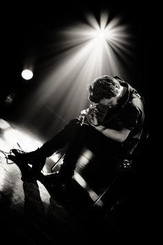 Tallest Man on Earth. He looks so in love with his guitar