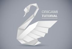 Creating an Origami Style Vector Swan in Illustrator